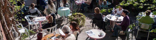 Restaurant terrasse Die